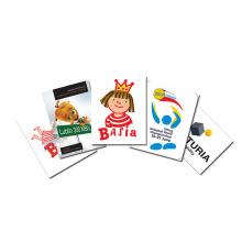 Magnesy reklamowe z zaokrąglonymi rogami