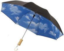2-częściowy automatyczny parasol Blue Skies o średnicy 21
