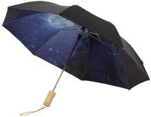 2-częściowy automatyczny parasol Clear Night Sky o średnicy 21