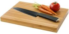 Deska do krojenia z nożem szefa kuchni Element