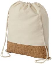 Bawełniano-korkowa torba ściągana na sznurek